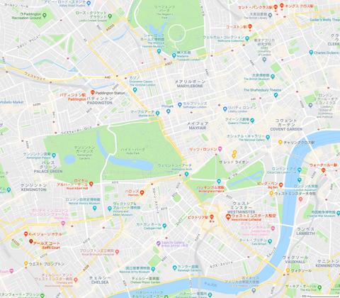 ロンドン 地図